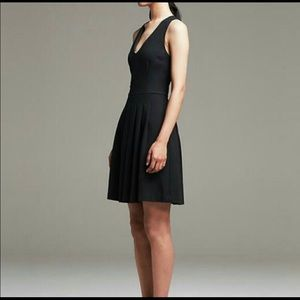 Banana Republic Fit & Flared Little Black Dress